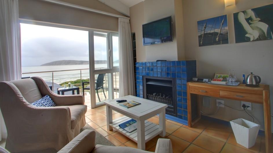 Südafrika Plettenberg Bay Lodge Zimmer mit Aussicht