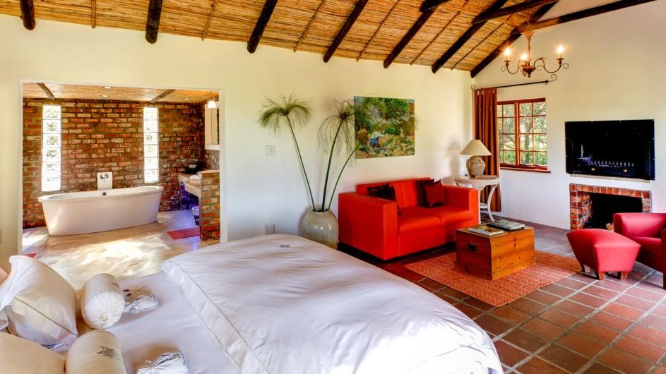 Südafrika Weinland Fraai Uiticht Gästefarm Luxuszimmer