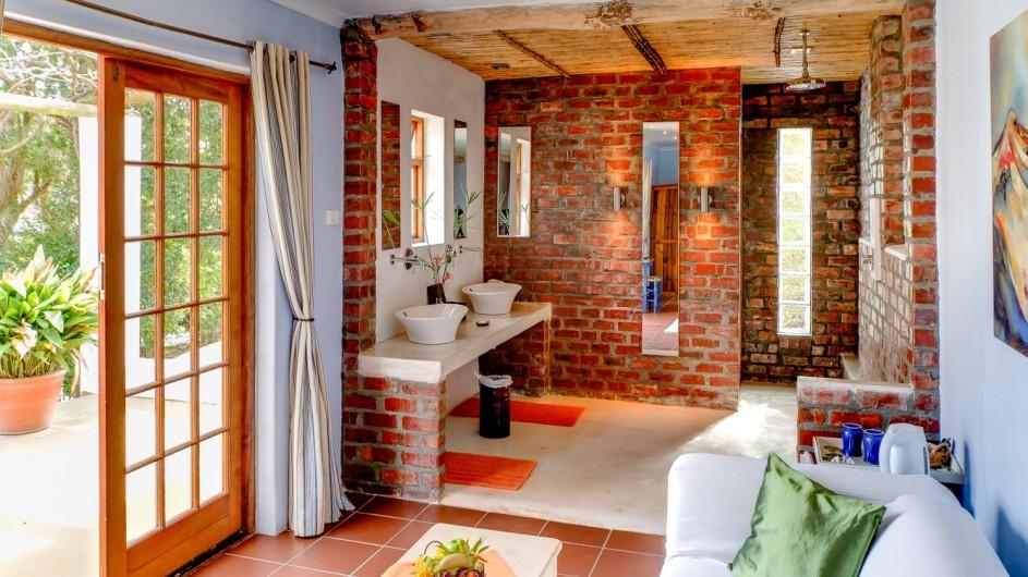 Südafrika Weinland Fraai Uiticht Gästefarm Superior Garten Suite