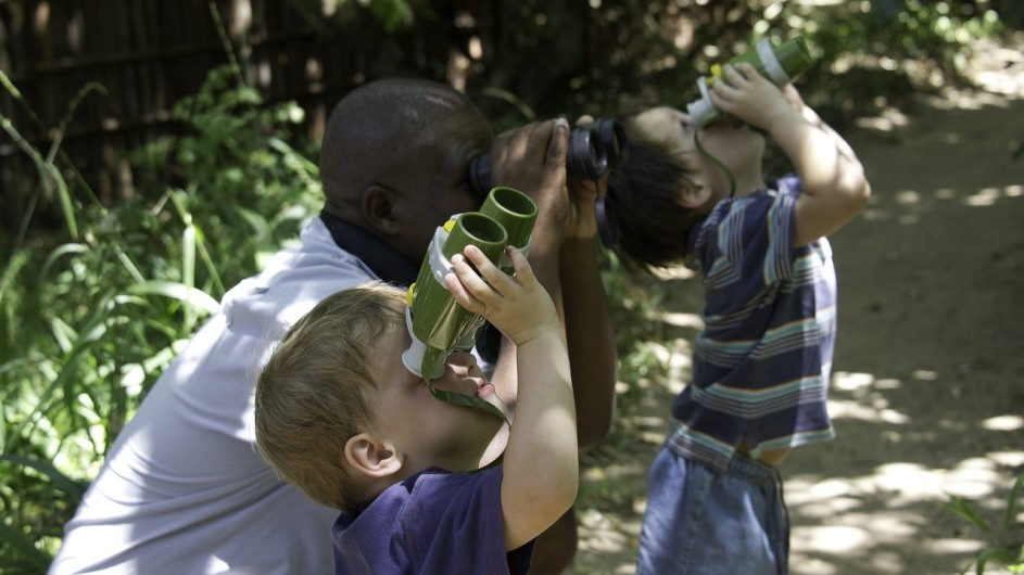Südafrika Rocktail Beach Camp Kinder Betreuung