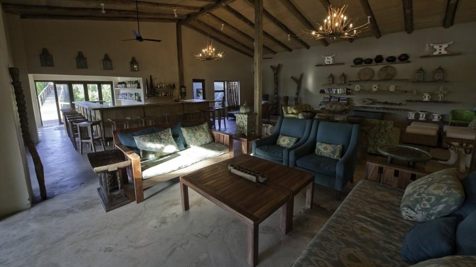 Südafrika Rocktail Beach Camp Lounge
