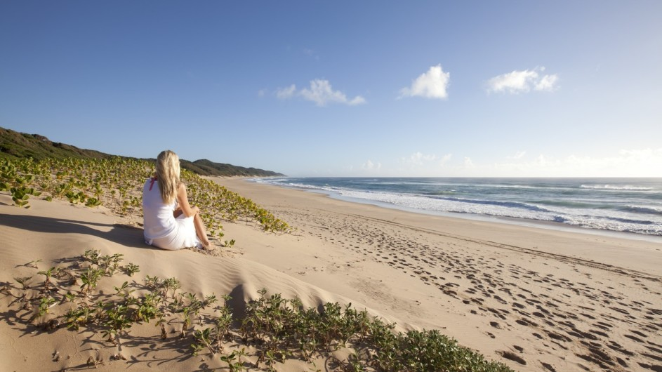 Südafrika Rocktail Beach Camp am Strand