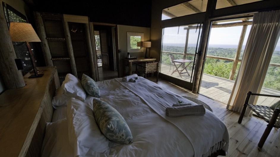 Südafrika Rocktail Beach Camp Zelt innen