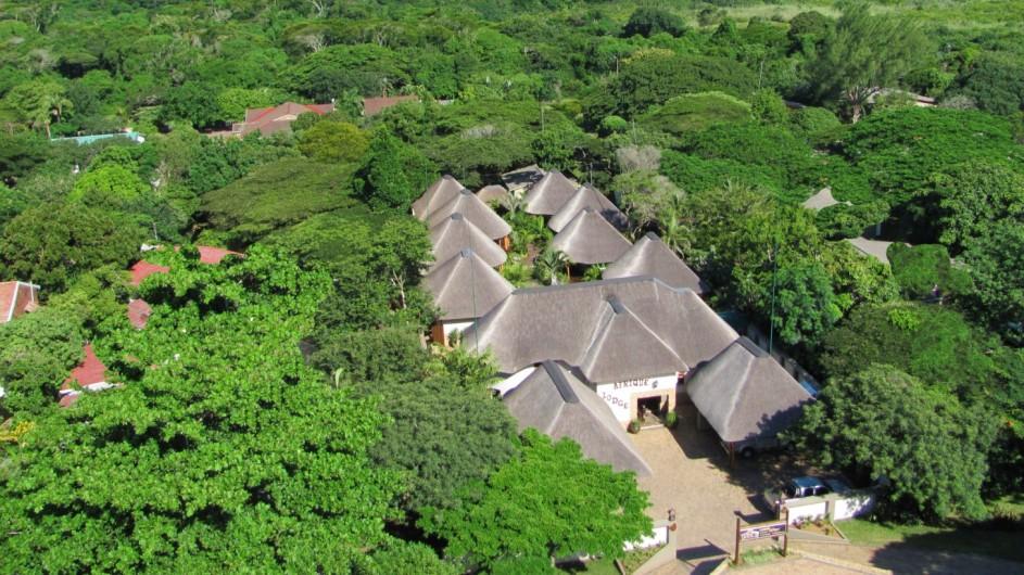 Südafrika St. Lucia Lodge Afrique Ansicht