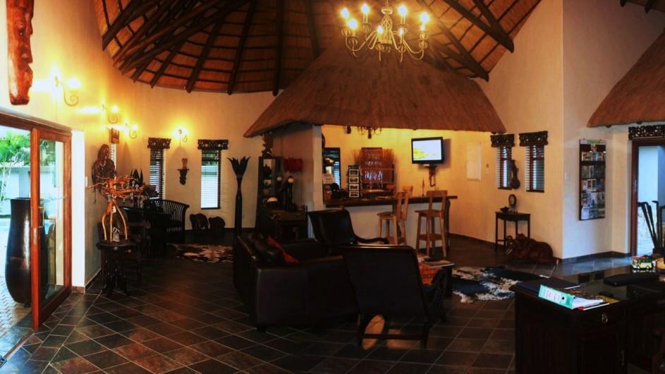 Südafrika St. Lucia Lodge Afrique Lounge