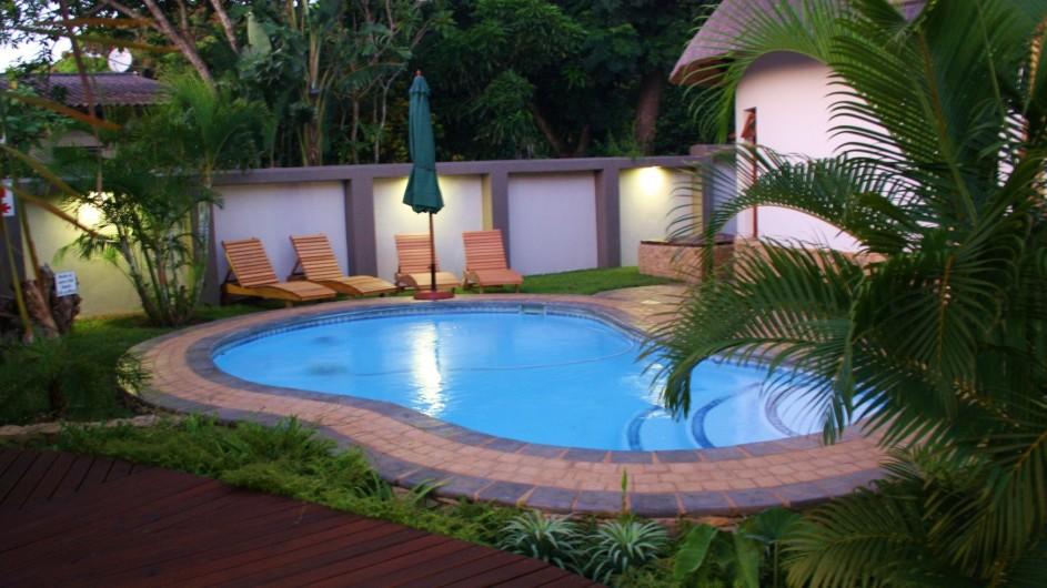Südafrika St. Lucia Lodge Afrique Pool