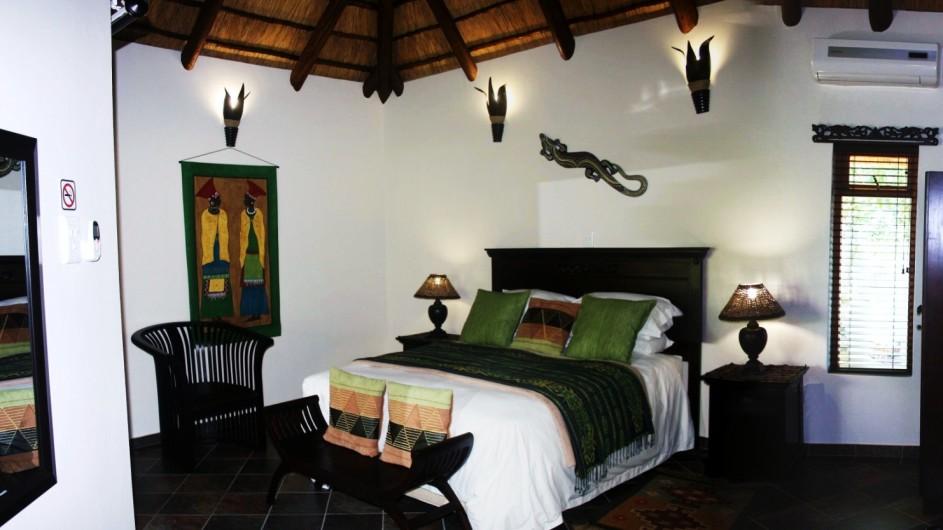 Südafrika St. Lucia Lodge Afrique Zimmer innen