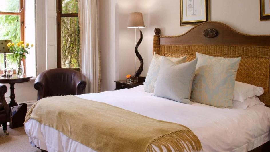 Südafrika Weinland Stellenbosch River Manor Boutique Hotel Classic Zimmer