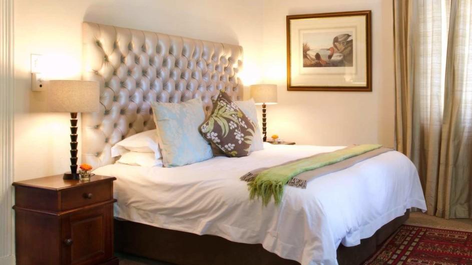 Südafrika Weinland Stellenbosch River Manor Boutique Hotel Superior Zimmer