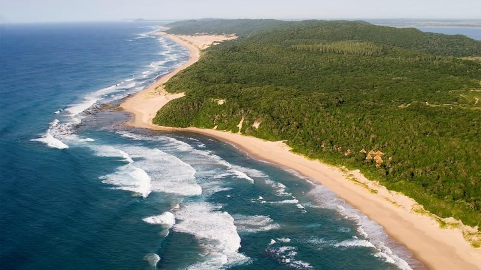 Südafrika Thonga Beach Lodge Küste