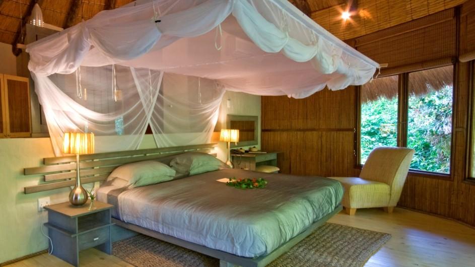Südafrika Thonga Beach Lodge Meerblickzimmer innen