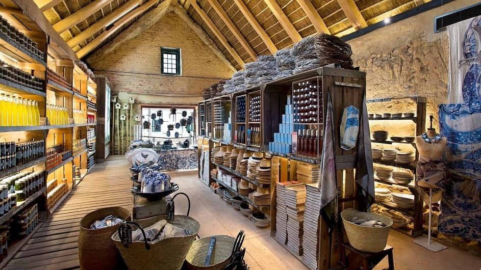 Südafrika Weinland Babylonstoren Farmhotel Farmshop