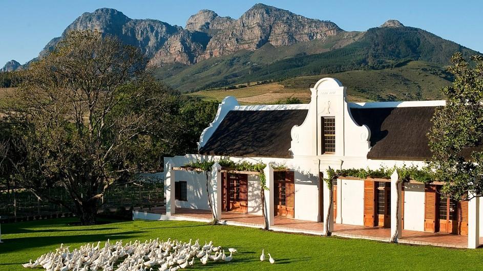 Südafrika Weinland Babylonstoren Farmhotel Haupthaus