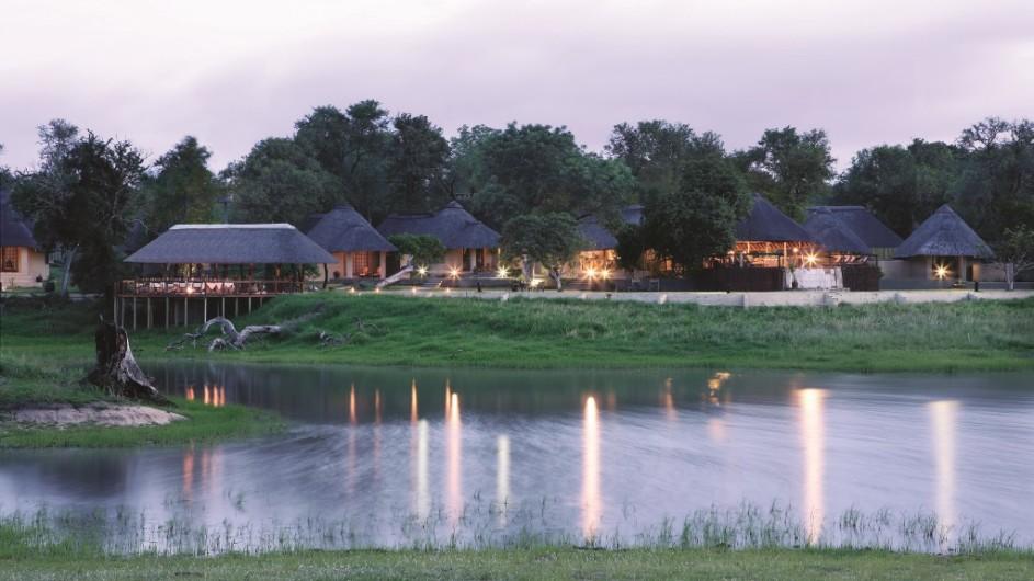 Südafrika Sabi Sand Game Reserve Arathusa Safari Lodge Lodge Ansicht