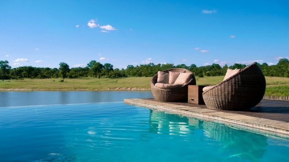 Südafrika Sabi Sand Game Reserve Arathusa Safari Lodge Pool