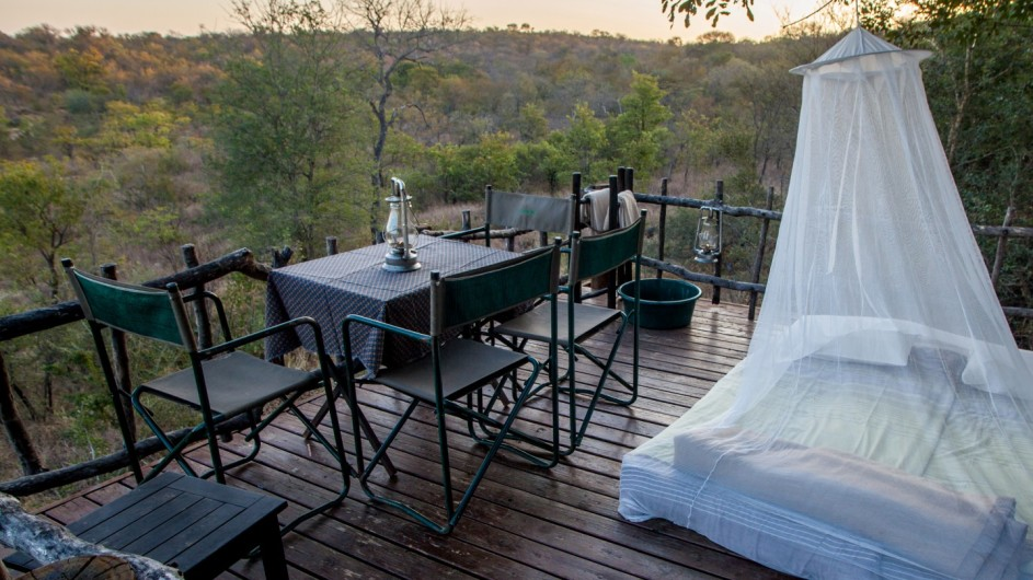Südafrika Makalali Game Reserve Garonga Safari Camp Sleepout
