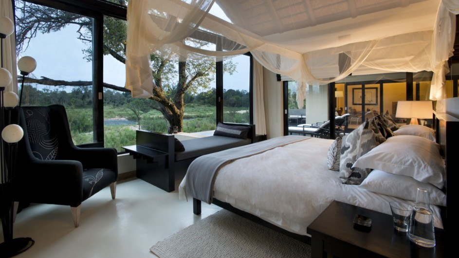 Südafrika Sabi Sand Game Reserve Lion Sands Ivory Lodge Suite