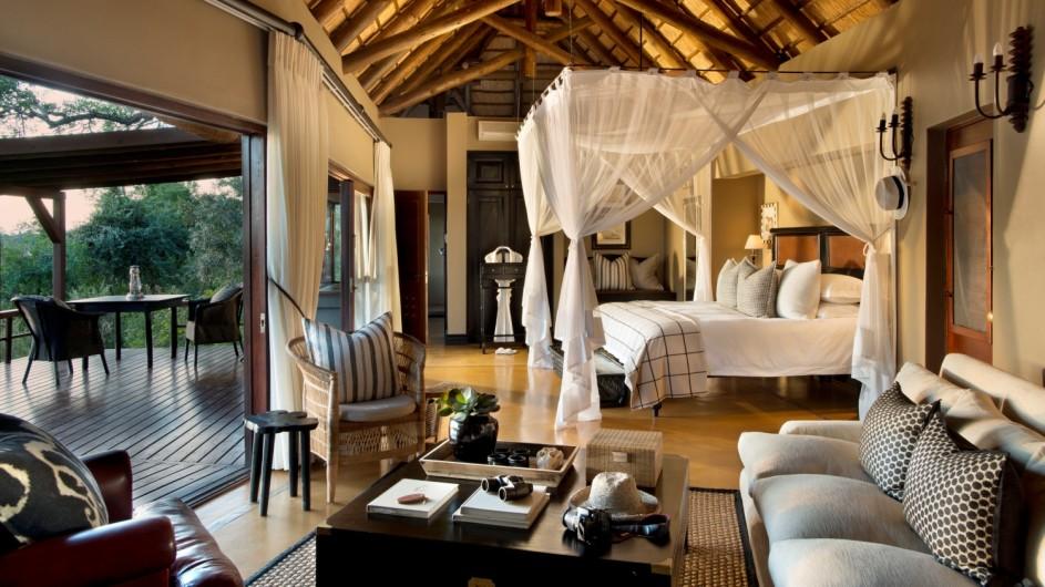 Südafrika Sabi Sand Game Reserve Lion Sands Tinga Lodge Suite