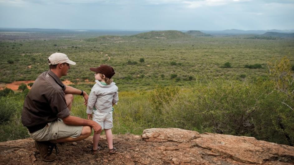 Südafrika Madikwe Safari Lodge Clubz Bushwalk Kinder