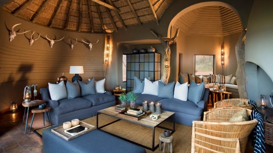 Südafrika Madikwe Safari Lodge Dithaba Lodge Lounge