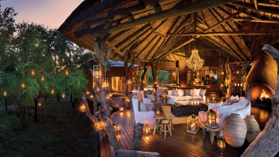 Südafrika Madikwe Safari Lodge Lelapa Lodge Lounge