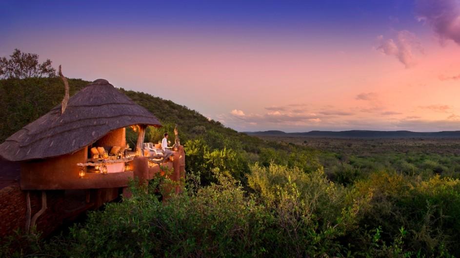 Südafrika Madikwe Safari Lodge Lelapa Lodge Suite Außenansicht