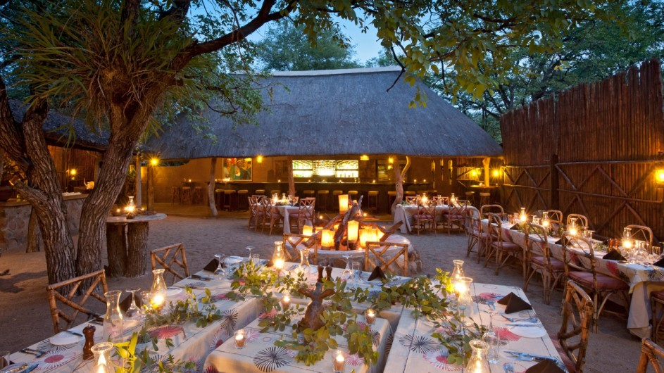 Südafrika Motswari Private Game Reserve Dinner