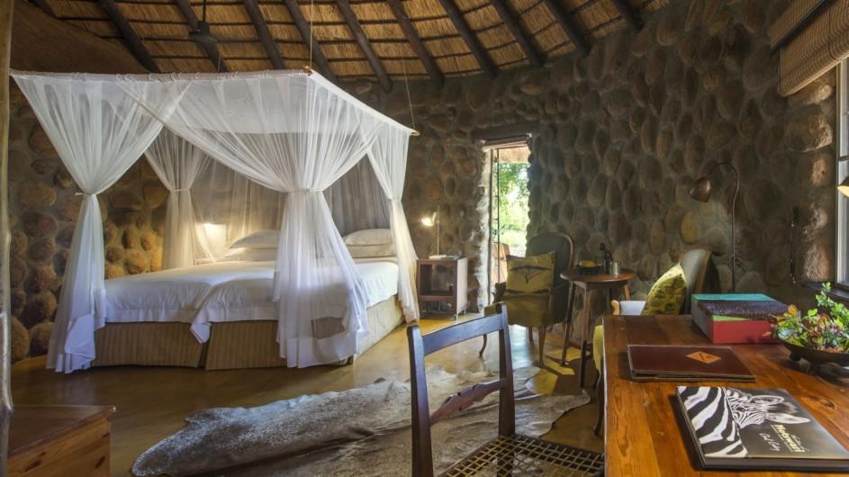 Südafrika Motswari Private Game Reserve Geigers Camp Zimmer