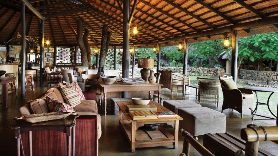 Südafrika Motswari Private Game Reserve Lounge