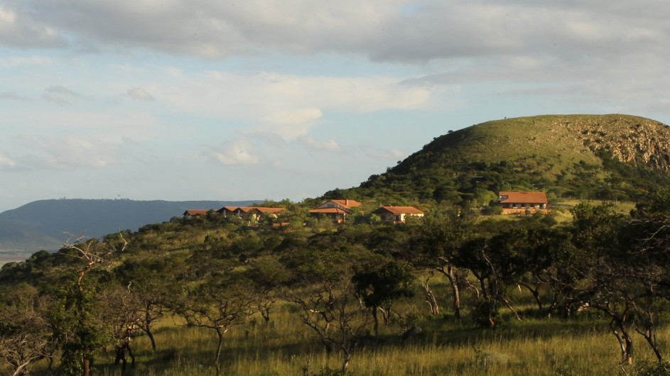 Südafrika Pakamisa Private Game Reserve Lodgeansicht