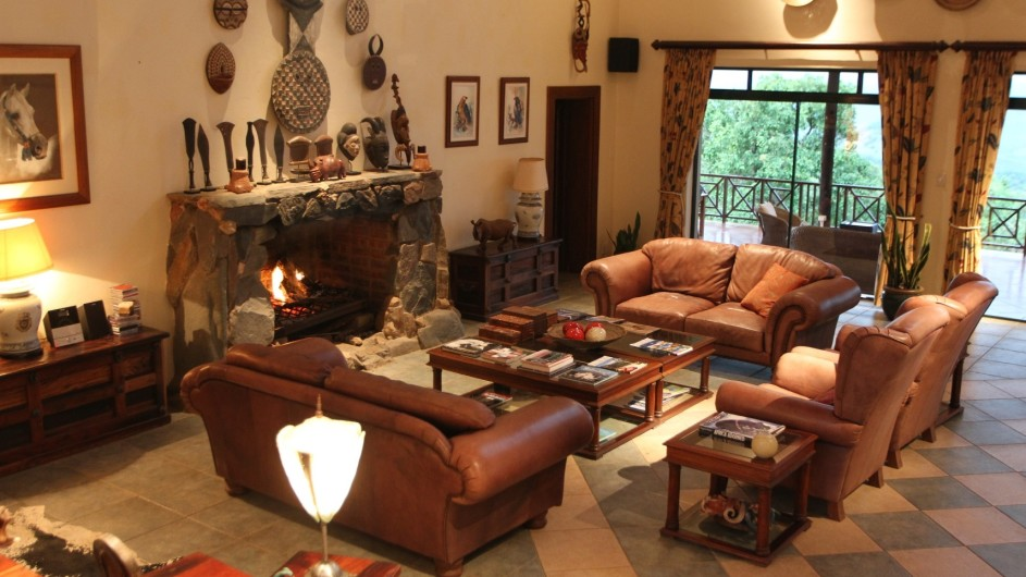 Südafrika Pakamisa Private Game Reserve Lounge