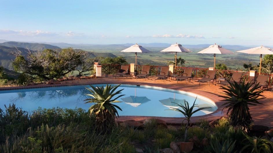 Südafrika Pakamisa Private Game Reserve Pool