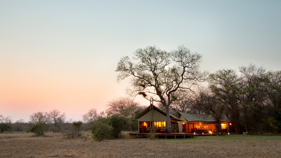 Südafrika Krüger Nationalpark Plains Camp Haupthaus