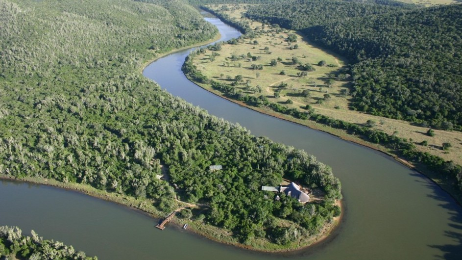 Südafrika Sibuya Game Reserve Forest Camp Lage