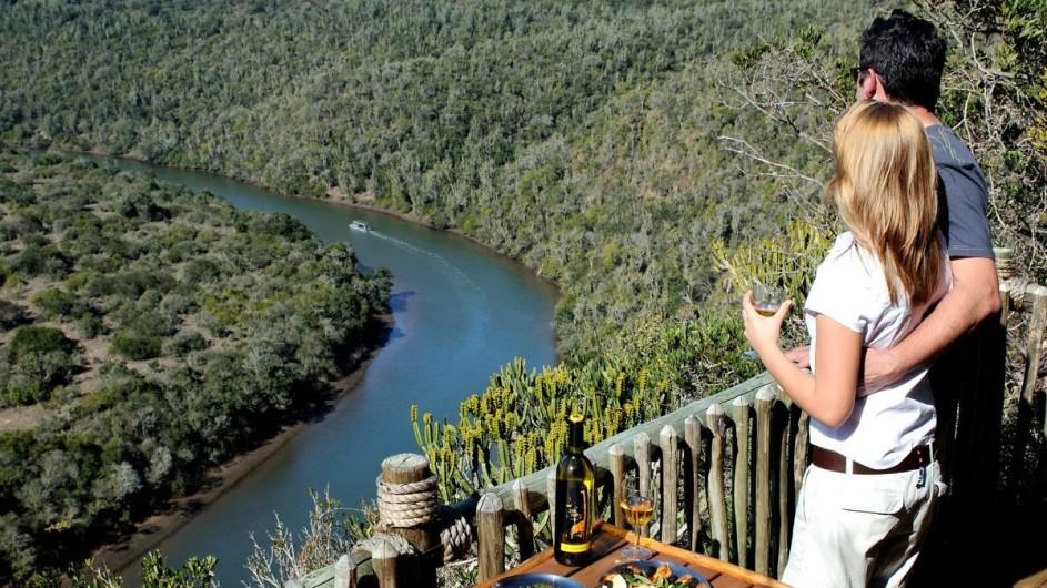 Südafrika Sibuya Game Reserve Aussichtspunkt