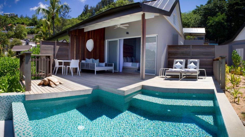 Seychellen - Mahe - Chalet mit Pool - Carana Beach Hotel
