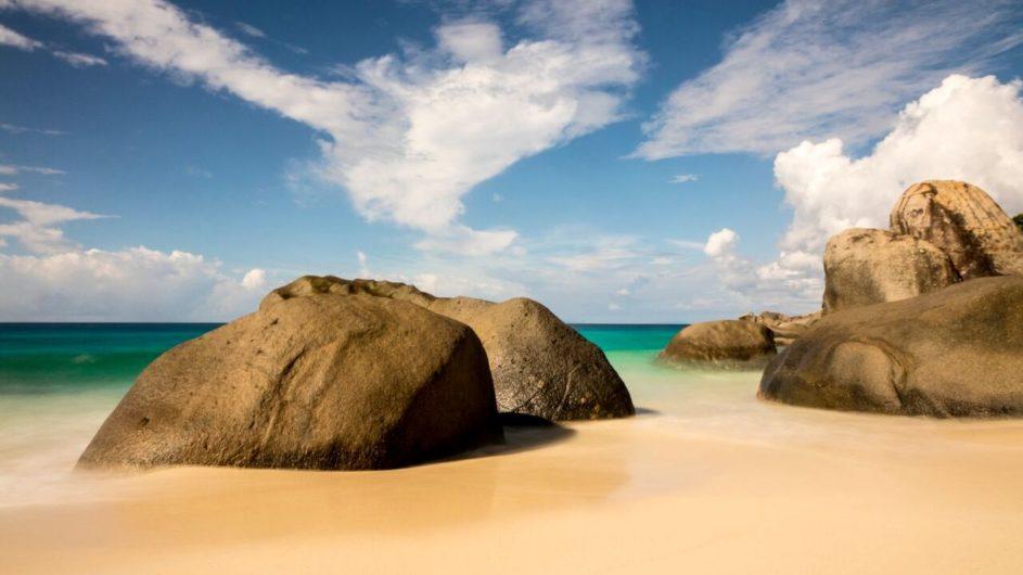 Seychellen - Mahe - Strand - Carana Beach Hotel