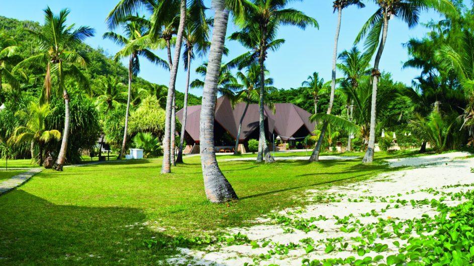 Seychellen - Praslin - New Emerald Cove - Garten