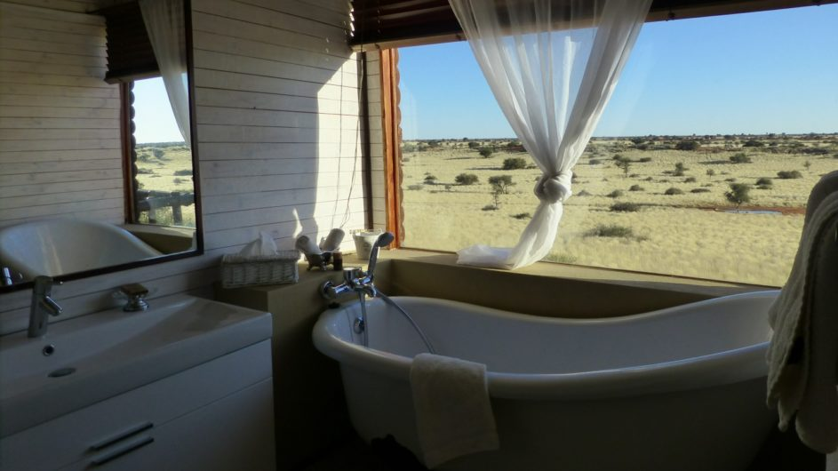 Namibia Mariental Bagatelle Kalahari Game Ranch Badezimmer