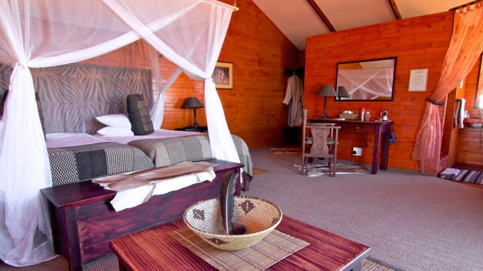 Namibia Mariental Bagatelle Kalahari Game Ranch Dune Chalet innen