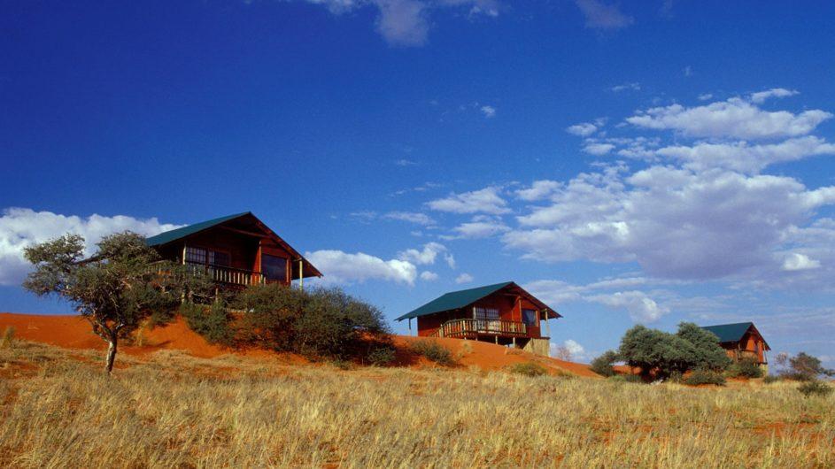 Namibia Mariental Bagatelle Kalahari Game Ranch Dune Chalets außen