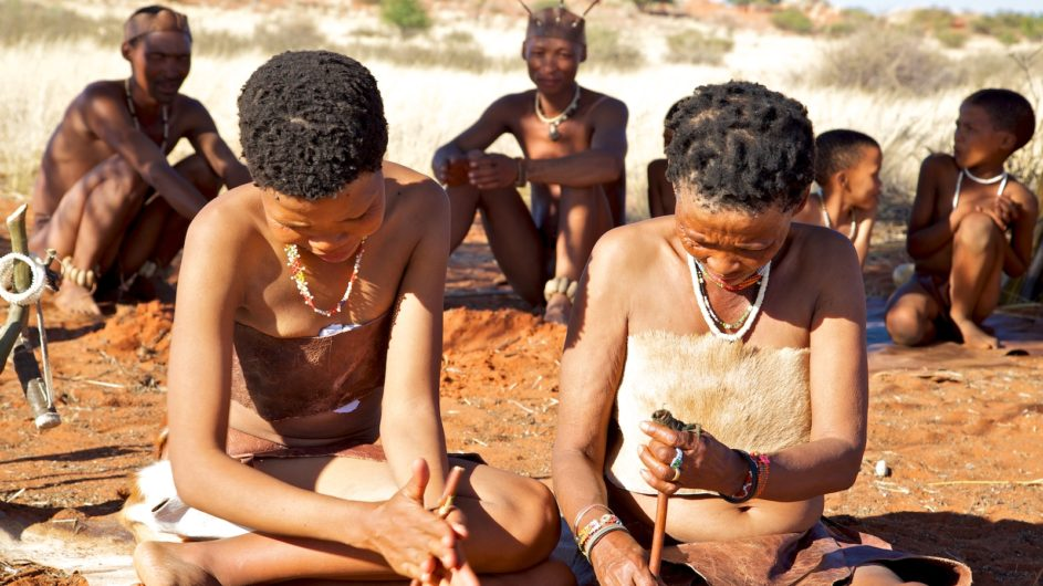Namibia Mariental Bagatelle Kalahari Game Ranch San Gruppe