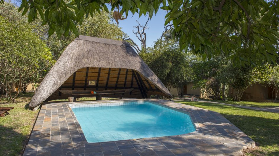 Namibia Caprivi Namushasha River Lodge Pool