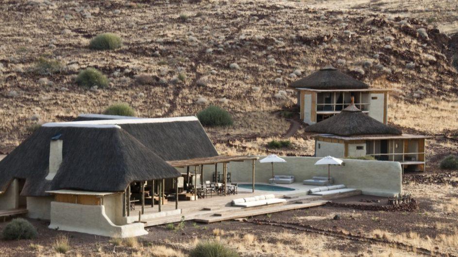 Namibia Damaraland Camp Campansicht