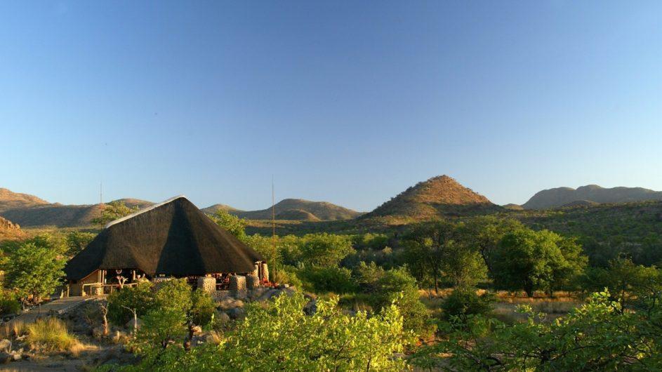 Namibia Damaraland Huab Lodge Ansicht