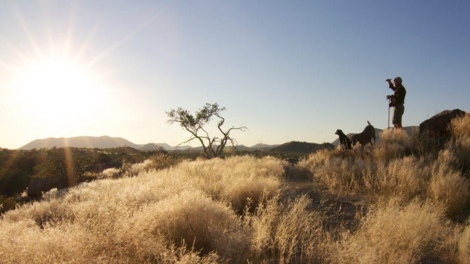 Namibia Damaraland Huab Lodge Wanderung