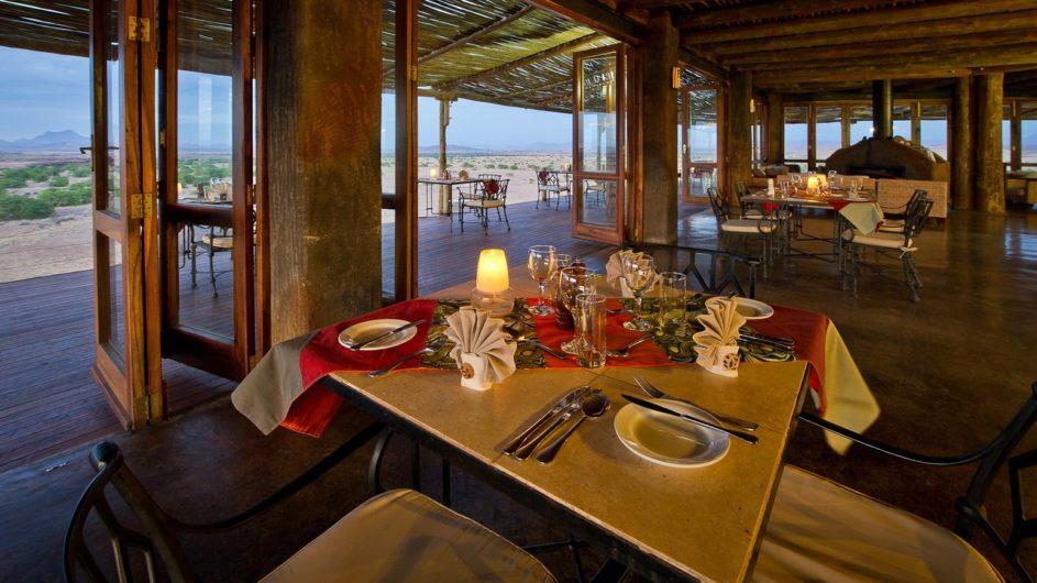 Namibia Doro Nawas Dinner