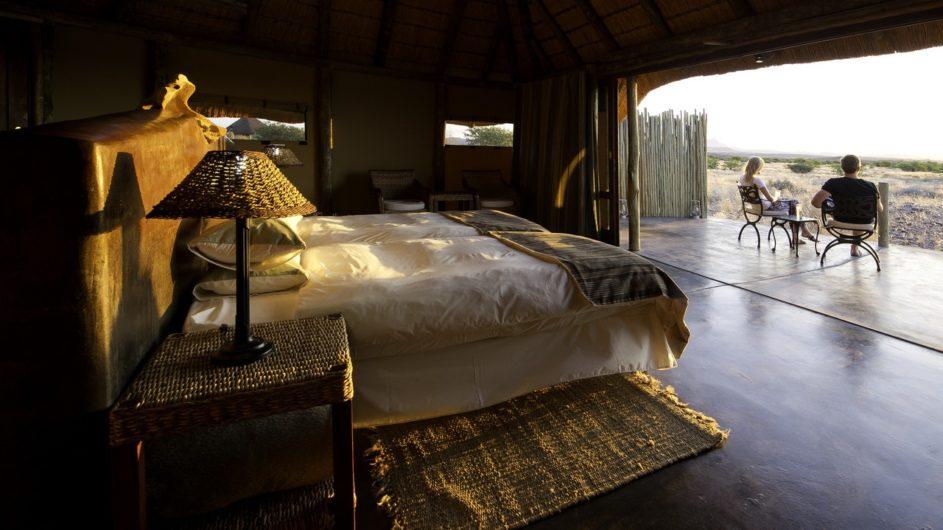 Namibia Doro Nawas Zimmer und Aussicht