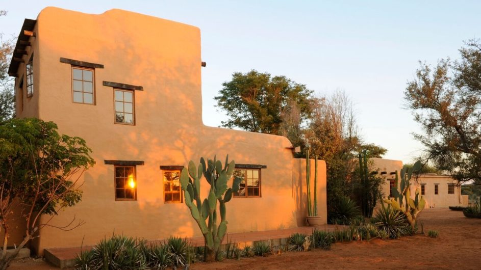 Namibia Eningu Clayhouse Lodge Ansicht