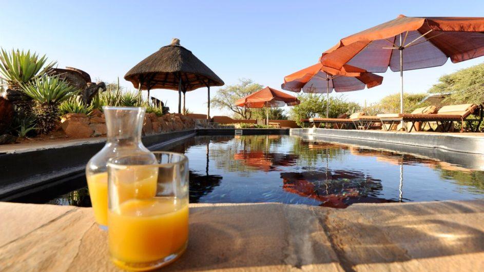 Namibia Eningu Clayhouse Lodge Pool